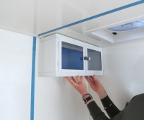 Test Fit Cabinet in Several Desired Interior Locations