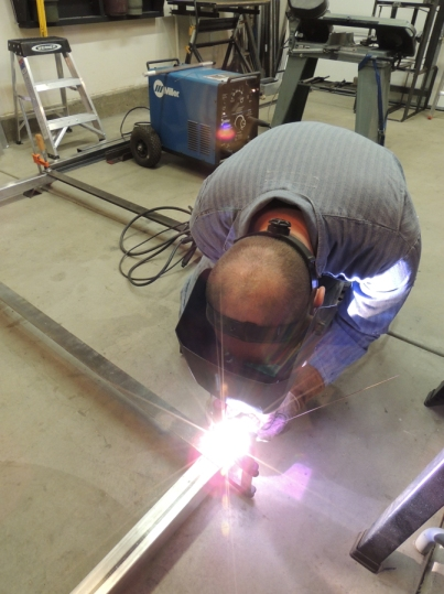 Welding Tire Mount Frame
