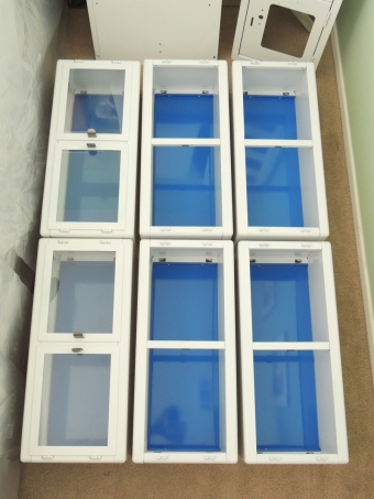 Assembled Raskog Interior Cabinets