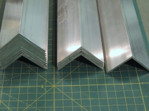Fabricated All Aluminum Angle Mounting Brackets for Solar Panels