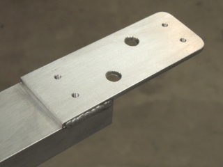 Fabricated Forward Upper Marker Light Rail