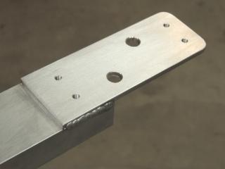 Fabricated Forward Upper Marker Light Rail
