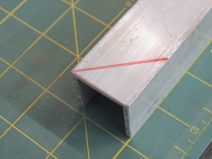 Fabricated Rain Guard for Habitat Side Passthrough