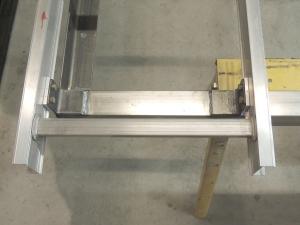 Final Match Drilled Ladder to Rear Mount Frame
