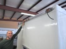 Fit Checking Forward Marker Light Rail