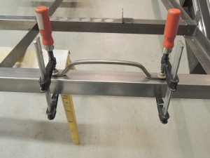 Fixturing and Welding Upper Driver Side Grab Handle