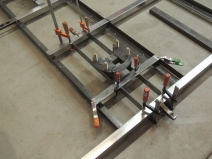 Fixturing Plate Assembly Into Rear Frame