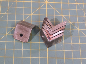 Machined Marker Light Wire Guide Mount Tabs