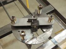 Machined Tire Locking Plate