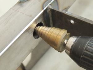 Machining, Fitting, and Welding Steel Solar Wire Passthrough Tube