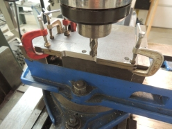 Milling Side Gussets for Spare Tire Mount Plate