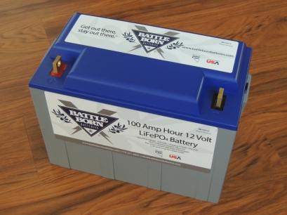 Received BattleBorn Batteries from Sunsense Solar