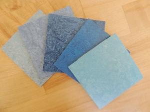 Received Flooring Samples