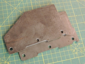 Tire Mount Plate Side Gussets