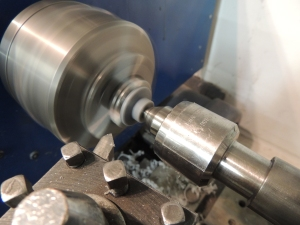 Turning Tire Mount Plate Centering Spacer
