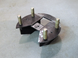 Welded Tire Mount Plate Assembly