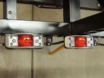 Wired Marker Lights on Rear Frame