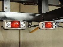 Wired Marker Lights on Rear Frame