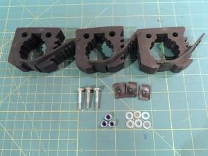 Hardware Kit for Roof Rack Shovel Mounts