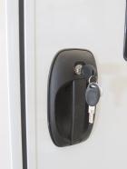 Installed Door Lock into Habitat