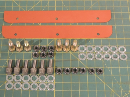 Made RTV Gaskets and Hardware Kit for Ladder Mounts