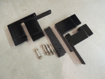 Painted Roof Rack Mounting Brackets