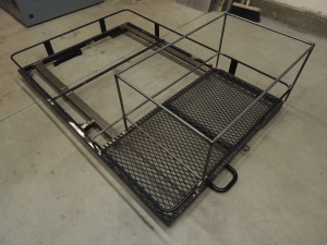 Partially Complete Roof Rack