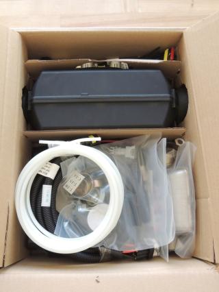 Received Planar 2D-12 diesel heater