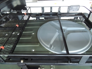 Reinstalled Roof Hatch