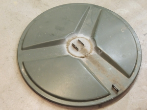 Removed Roof Hatch from Cab