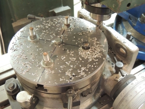 Rotary Table Milled Plate for Upper Ladder Corners