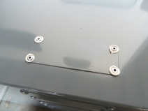 Sealed and Riveted Open Holes in Roof Rack Box Lid