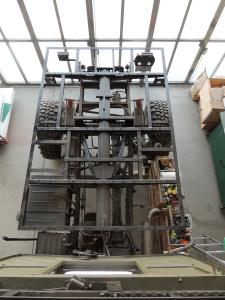 Subframe Ready for September Habitat Lift