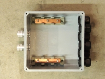 Completed Fabrication of Junction Box