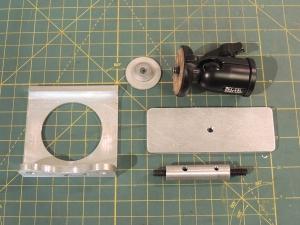 Fabricated Backup Camera Mount