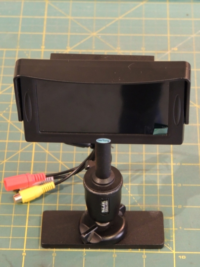 Fabricated Backup Camera Mount