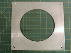 Fabricated Junction Box Lid Hold Down Plate