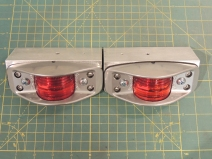 Fabricated Lower Aft Marker Light Brackets