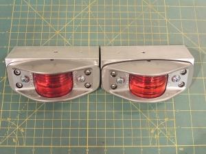 Fabricated Lower Aft Marker Light Brackets