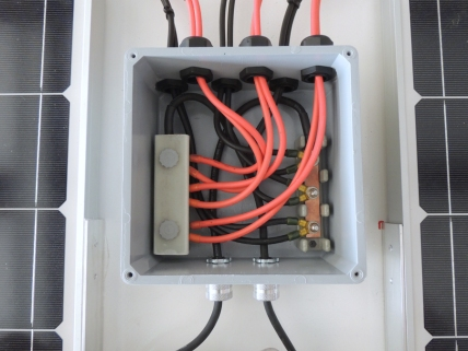 Final Wired Junction Box
