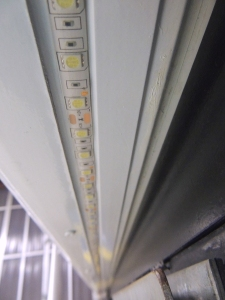 Installed Passenger Side LED External Strip Light