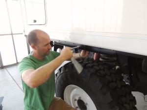 Installing Rear Rock Shield