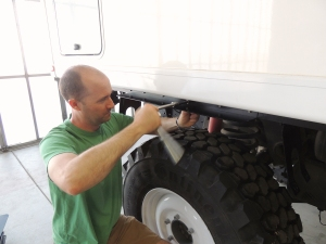 Installing Rear Rock Shield