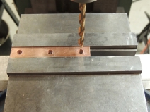 Machined Copper Bus Bar