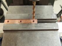 Machined Copper Bus Bar