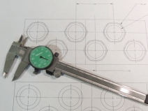 Made Gland Nut Template for Junction Box