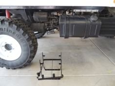 Passenger Side Jerry Can Mount Area