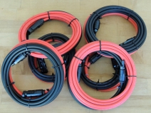 Received MC4 Solar Panel Wires