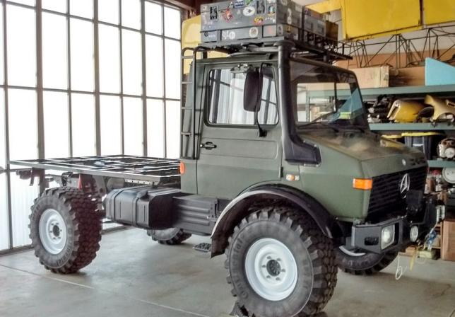 Truck Ready for Habitat Lift