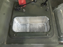 Applied Sound Deadening Mat to Cab Floor Cavity